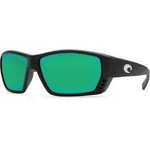 de961922afe Costa Del Mar Tuna Alley Black Green Polarized Glass Lens 580G sunglasses