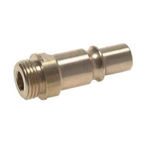 Druckluftkupplung Messing Kupplungsstecker NW 12 mit Schlauchtülle Kupplung