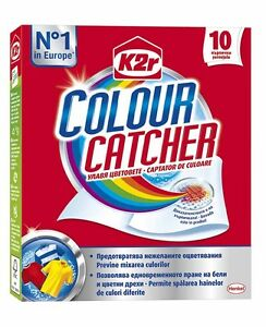 Colour Catcher Henkel Smart Mixed Washing White & Color Bacteria ...