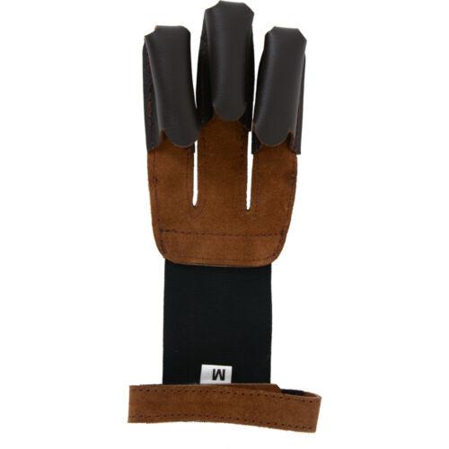 Bearpaw Schießhandschuh Traditional  Bogensports Rinderleder Fingerschutz