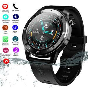 Wasserdicht IP67 Smartwatch Fitness Smart Armband Uhr Tracker Bluetooth Pulsuhr