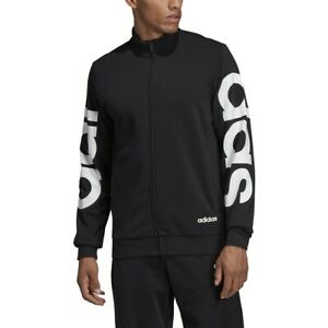Details about adidas Mens E BRAND TT BLACK JACKET DQ3064