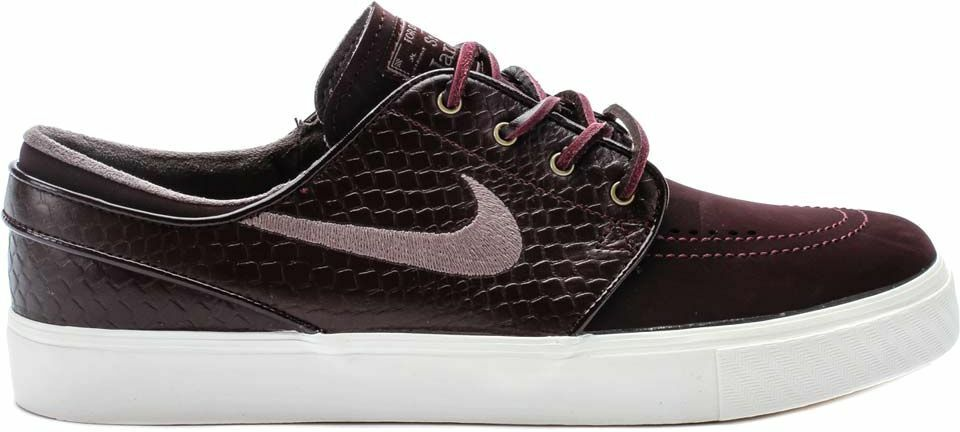 Nike ZOOM STEFAN JANOSKI PREM Deep Burgundy purple Ore Sail D (456) Men's shoes