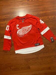 NEW-Fanatics-Men-039-s-NHL-Detroit-Red-Wings-Henrik-Zetterberg-40-Home-Jersey-siz-L