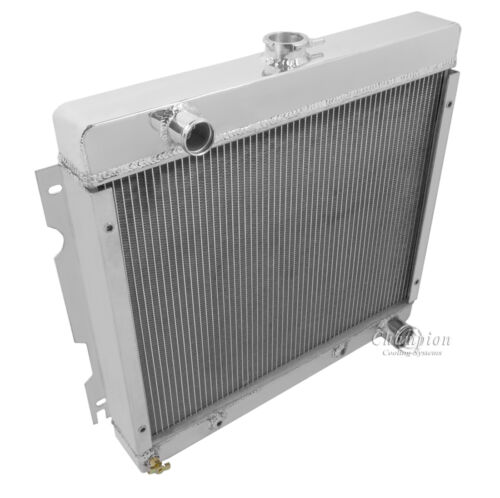 1970-72 Dart Duster Swinger Small Block DR Demon Valiant 3 Row Radiator