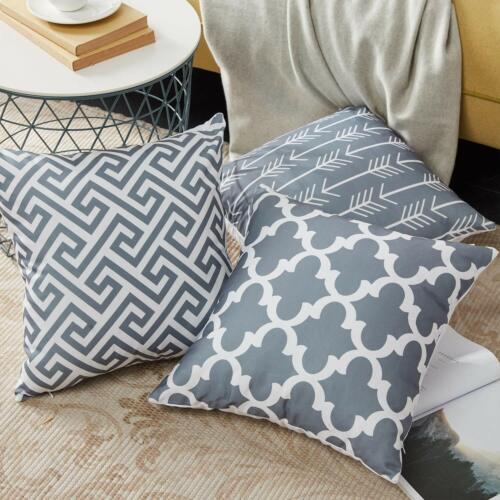 Decorative Pillow Cases Fundas De Cojines Decorativos Para Sofa Cama Almohada