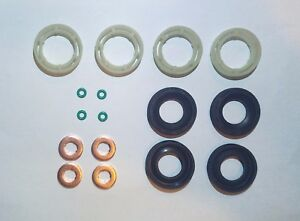 peugeot citroen 1 6 hdi diesel injector seals washers kit 198185 1982a0 198299 ebay. Black Bedroom Furniture Sets. Home Design Ideas