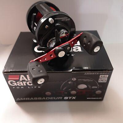 Abu Garcia Ambassadeur STX 6601 Round Baitcast Reel 5.9:1 Ratio #1292727