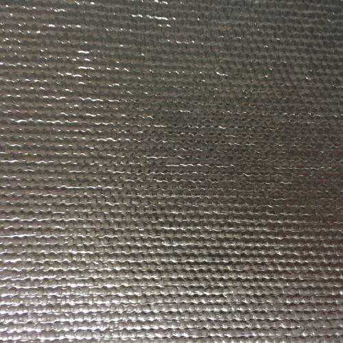 20x100 cm Hitzeschutzmatte Schild Alu Auto Motrrad selbstklebend 1,4 mm 800°C