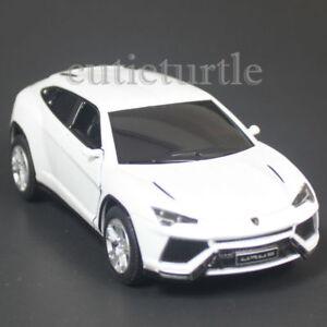 Kinsmart Lamborghini Urus Suv 1 38 Diecast Toy Car White Kt5368d Ebay