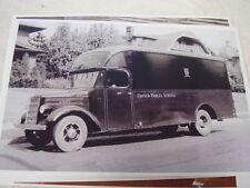 1937 MACK TRUCK UNITED PARCEL SERVICE TRUCK  11 X 17  PHOTO  PICTURE