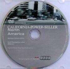 AUDI Navigation plus System DVD ROM Version 2010/2011 North America RNS-E OEM