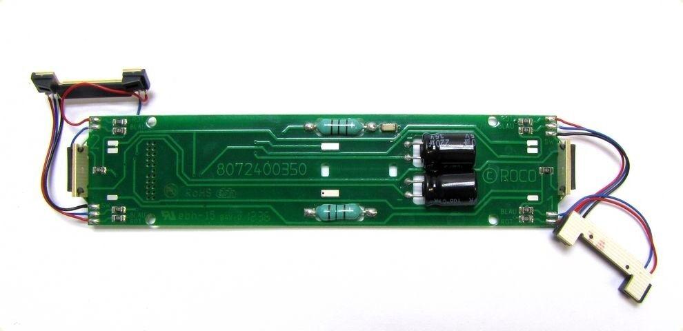 Ersatz-Platine mit redlicht LED z.B. für ROCO SBB Elektrolok Re 4 4 II H0 - NEU