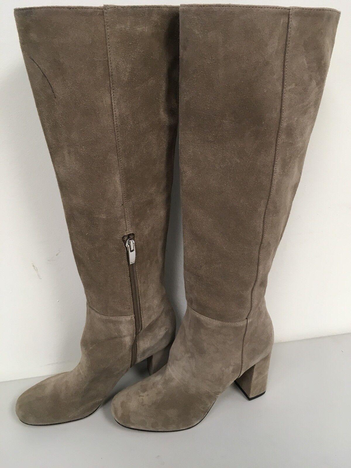Via Spiga Mellie Mid Heel Stiefel Stiefel Stiefel Suede Größe 6.5M d973e1