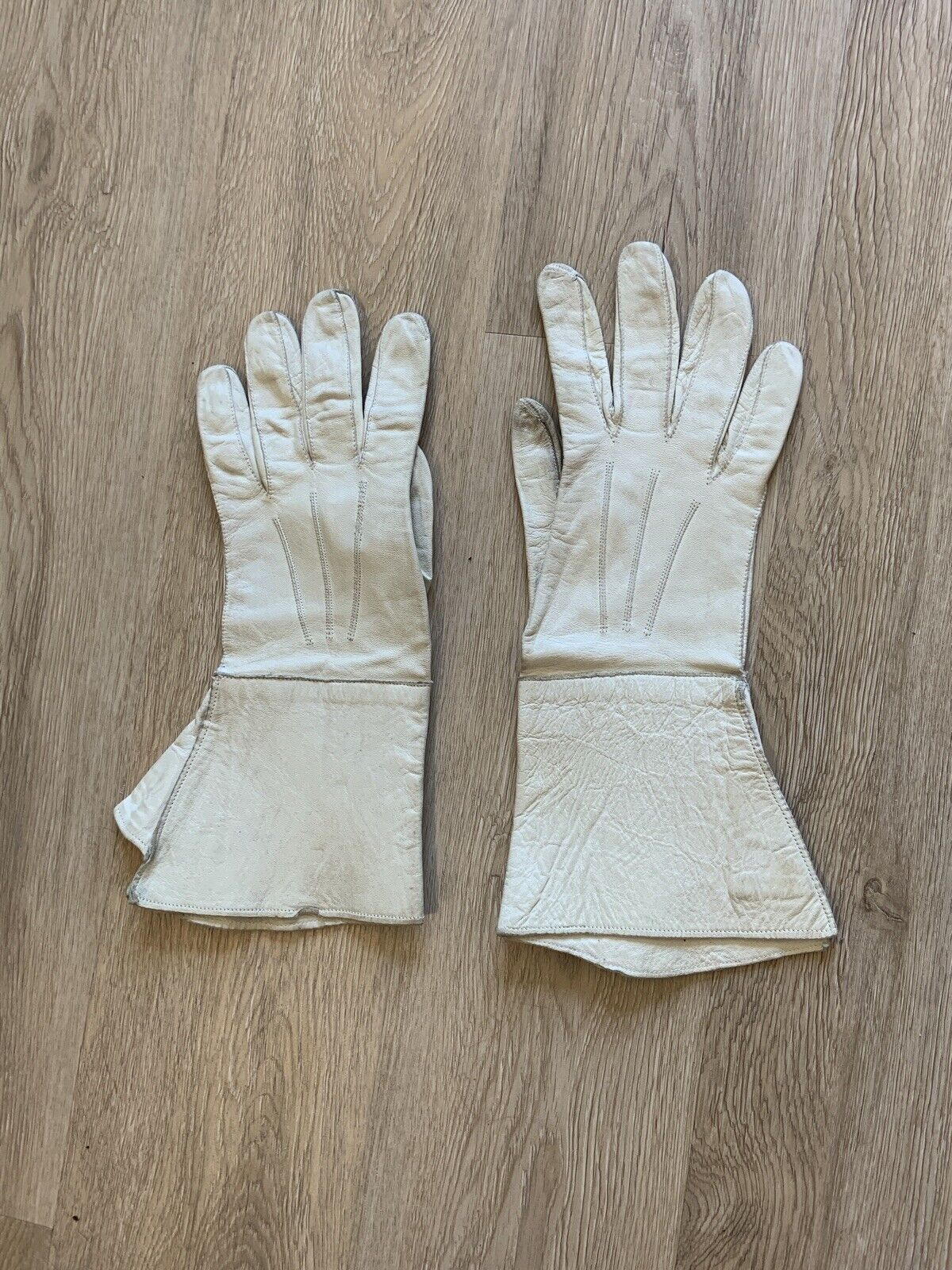 Vintage Early 20th Century French GAUNTLET GLOVES… - image 3