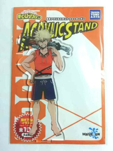 My Hero Academia Acrylic Stand Figure Katsuki Bakugo Water Gun Kohei Horikoshi