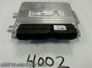 03-2003-HYUNDAI-ELANTRA-COMPUTER-BRAIN-ENGINE-CONTROL-ECU-ECM-MODULE-EBX