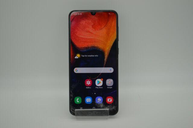Samsung Galaxy A50 SM-A505U - 64 GB - Black (Unlocked/AT&T/T-Mobile)