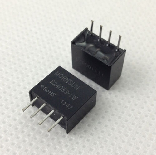Mornsun B2403S-1W DC//DC 1W isolated converter 24V IN//3V OUT MORNSUN.3pcs