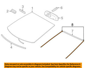 toyota 1 8 diagram toyota oem 12 17 prius v windshield reveal molding right  toyota oem 12 17 prius v windshield