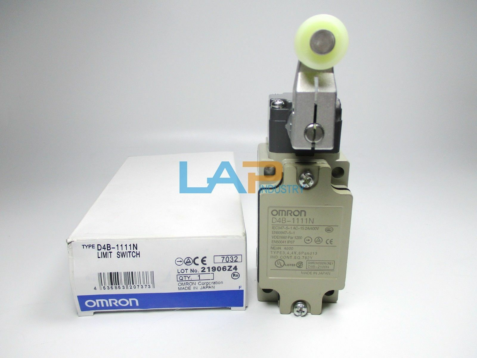 1pc For Omron Limit Switch D4b 1111n Lever Actuator Microswitch Spdt 5a Micro Ebay Stock Photo