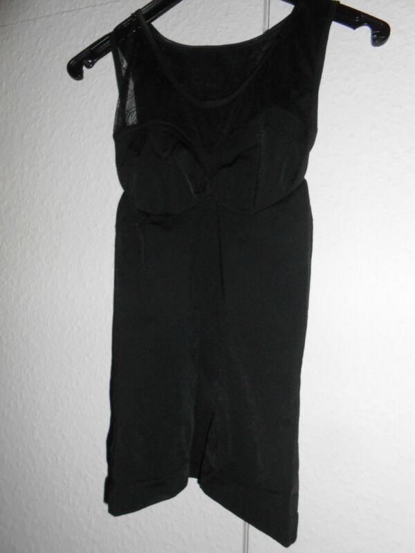 Esmara Lingerie Formhemd Top Bauchweg Spitze L Spitzentop Shapewear Schwarz Neu