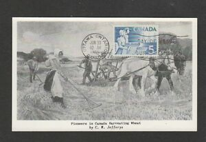 Canada 1955 Prairie provinces FDC maximum card