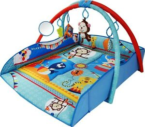 Musical 4in1 Baby Large Playmat Nest