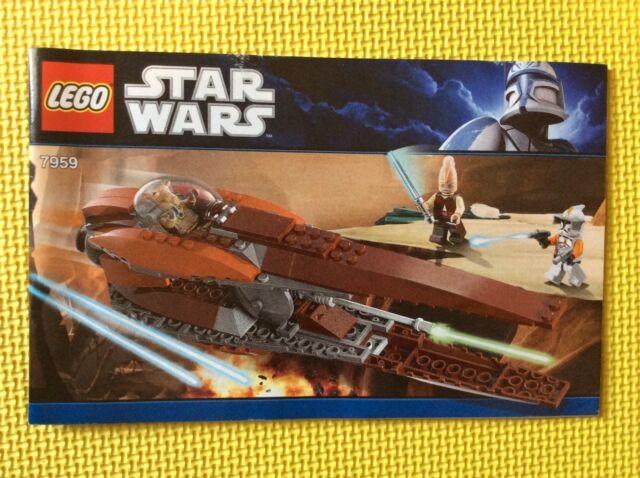 Lego Star Wars Geonosian Starfighter 7959 Ebay