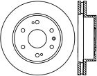 Disc Brake Rotor-Sport Drilled Disc Front/Rear-Left Stoptech 128.66057L