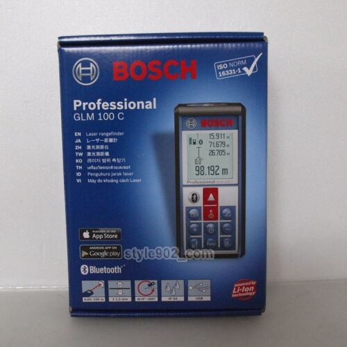 BOSCH GLM 100 C Professional Laser Distance measurement rangefinder GLM 100C
