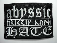 ABYSSIC HATE   EMBROIDERED PATCH