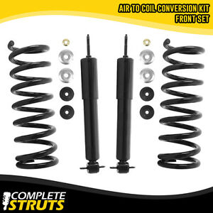 1992-2002 Ford Crown Victoria Front /& Rear Gas Shocks with Rear Coil Springs Kit