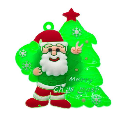 16x LED Leuchtend Brosche Weihnachten Deko  Weihnachtsschmuck Pin Party Deko FL