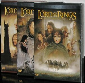 The-Lord-of-the-Rings-The-Motion-Picture-Trilogy-3-Individual-DVDS-All-New