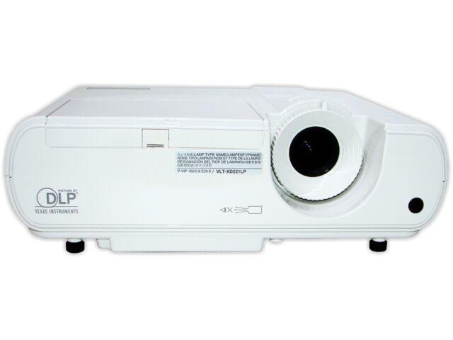 mitsubishi xd221u dlp projector ebay rh ebay com mitsubishi xd221u service manual mitsubishi projector xd221u manual