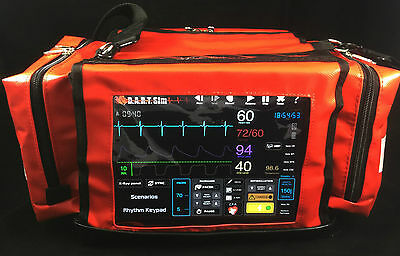 Cardiac Monitor Defib Simulator For Acls Pals Ecg Nursing And Paramedics Ebay