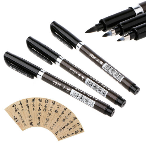 1PC Chinese Japanese Water Ink Painting Writing Brush Calligraphy Pen Art Tool