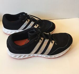 adidas mens shoes black white striped size 11 casual shoes