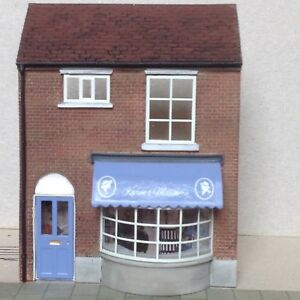 Bachmann Scenecraft Oo Gauge Low Relief Karens Millinery. Bnib Les Clients D'Abord