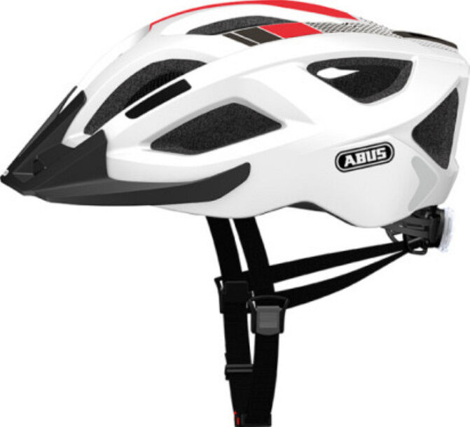 Abus Allround Fahrradhelm Aduro 2.0 race-Weiß Gr Gr Gr 52-58 cm 616c82