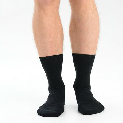 Mens Essential Ribbed Woollen Ankle Socks 7 Colours Available As 1 Pair Or 3 Mix