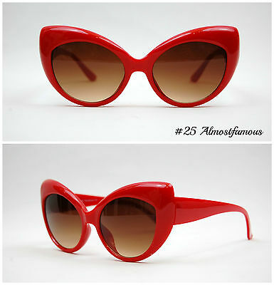 VTG 50s/60s Style womens Cat Eye Sunglasses Retro Rockabilly Glasses Vintage