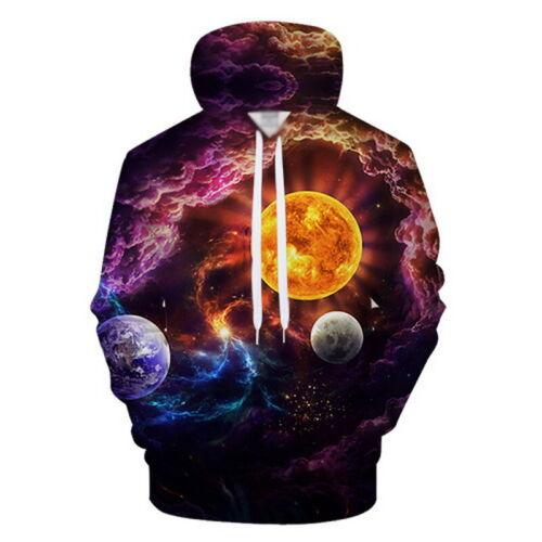 Autumn 3D Print Graphic Men Womern Sweatshirt Hoodie Pullover Casual Hoodie Tops