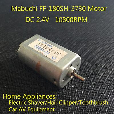 MABUCHI FF-180SH-3730 DC 2.4V 3V High Speed Mini Electric Shaver Motor 2mm Shaft