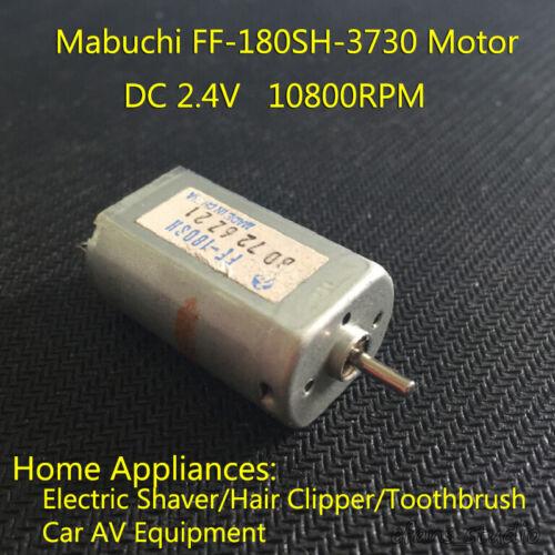 MABUCHI FF-180SH-3730 DC 2.4V 10800RPM Mute Motor DIY Electric Shaver Toothbrush