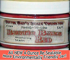 Rustic Barn Red Weathering Stain-4oz Doctor Ben's FLOQUIL REPLACEMENT WOOD PR!