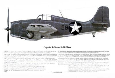 Ernie Boyette P-38 Jack Ilfrey Art Print signed by Ace Artist