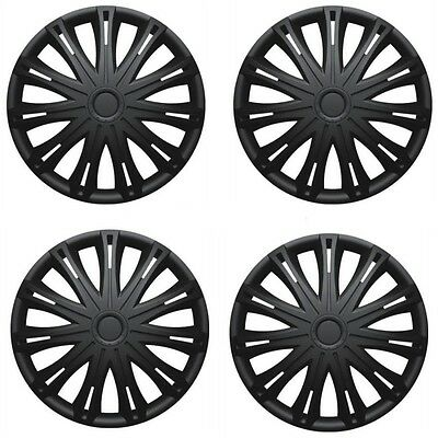 "15/"" Silver Wheel Trims Hub Caps Set Of 4 for Vauxhall Astra GTC Brava Calibra"