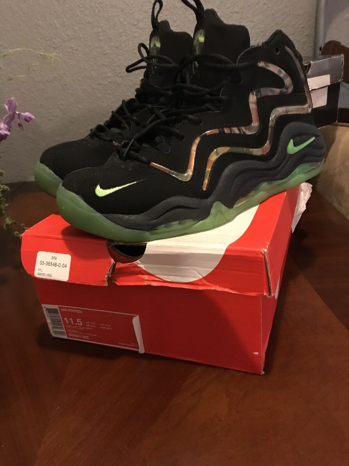 Nike Air Pippen Camo  Cheap and fashionable